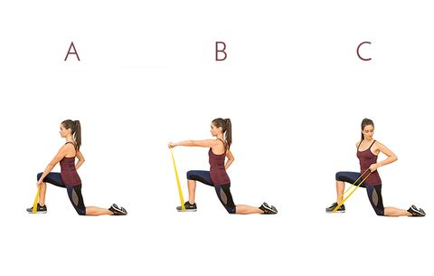 this miniband workout will tone your whole bod in no time
