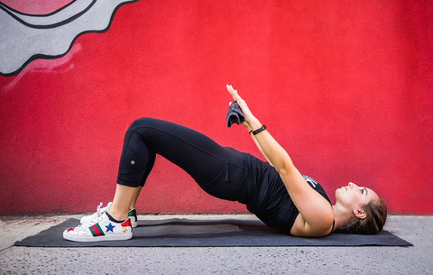 this workout will tone your entire body using just a hand