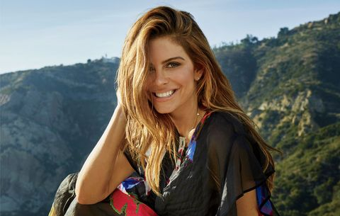 Maria Menounos cover photo shoot