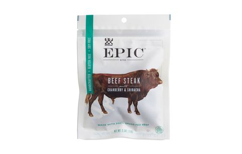 Epic Beef Steak Bites With Cranberry and Sriracha