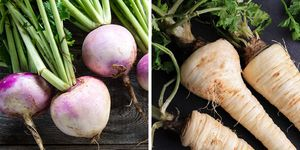 Parsnip and turnip nutrition