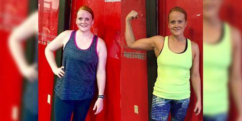 Tamara B. weight loss before and after