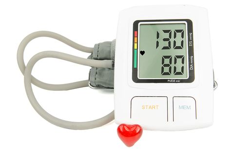 Blood pressure 130/80