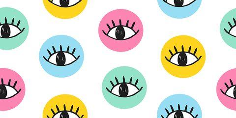 weird eye syptoms