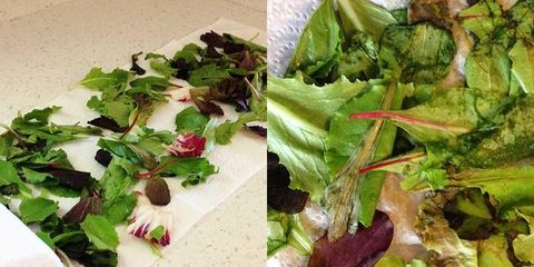 We Tested 5 Methods To Keep Salad Greens From Wilting—Here's The One That Actually Worked
