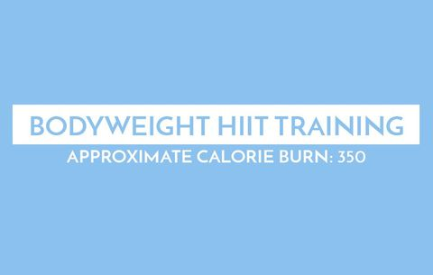 Bodyweight HIIT Training