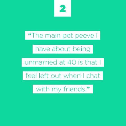 single in 40s
