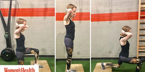 Lunges every day challenge
