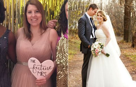 Wedding Weight Lose.These 7 Brides Said No To Crash Dieting And Still Lost Weight
