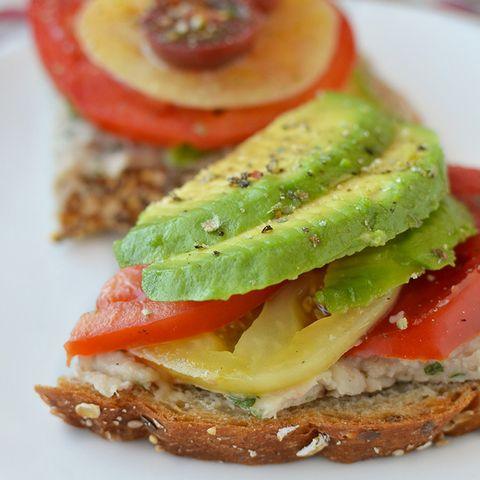 Food, Finger food, Cuisine, Vegetable, Ingredient, Produce, Dish, Breakfast, Sandwich, Meal,