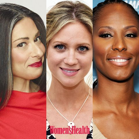 stacy london, brittany snow, chamique holdsclaw