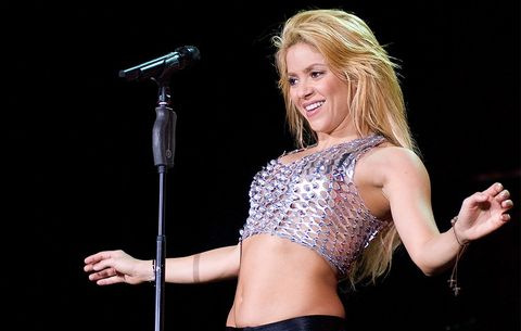 Shakira Just Shared The Secret To Her Killer Abs—And WOW, It Looks Hard