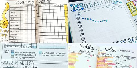 Bullet journals for weight loss