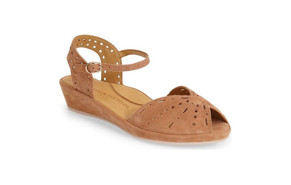 L'Amour des Pieds Brenn Ankle Strap Sandal