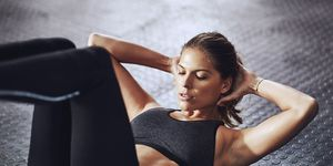 Abs exercises and hip pain