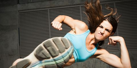 Workout to channel aggression