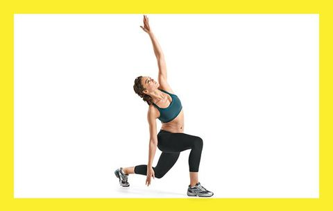 Work Your Abs AND Booty with This Buy-One-Get-One-Free Lunge Variation