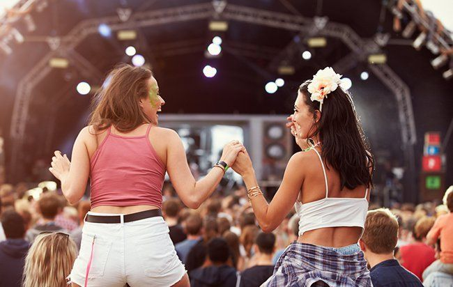 This Playlist Will Make You Feel Like You're Working Out at a Music Festival This Weekend