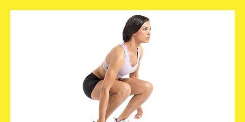 Human leg, Shoulder, Elbow, Wrist, Sportswear, Knee, Exercise, Chest, Sitting, Sleeveless shirt,