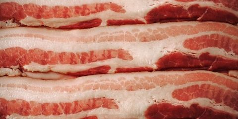 Pink, Animal product, Carmine, Pork, Maroon, Close-up, Flesh, Beef, Red meat, Animal fat,