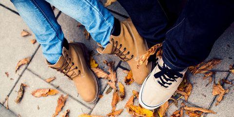 Human, Leg, Trousers, Denim, Human leg, Jeans, Joint, Orange, Amber, Electric blue,