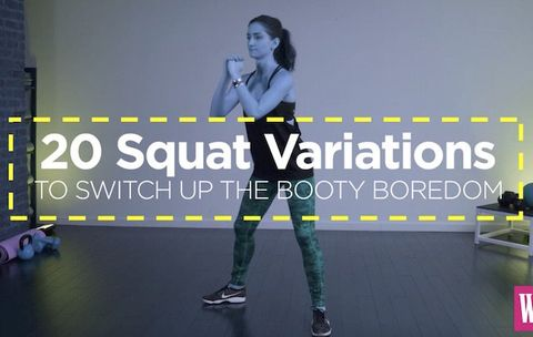 20 Squat Variations to Switch Up the Booty Boredom