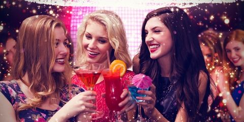 Smile, Fun, Event, Happy, Drink, Facial expression, Party, Holiday, Celebrating, Tooth,
