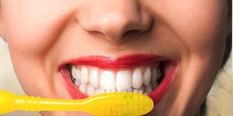 Lip, Cheek, Skin, Tooth, Facial expression, Jaw, Organ, Ingredient, Taste, Close-up,