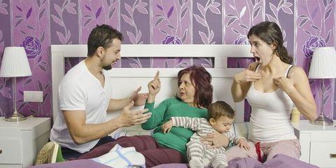 Human, Room, Comfort, Human body, Interior design, Purple, Interior design, Violet, Lavender, Bed,