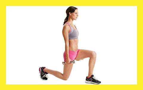 Try the Jump Lunge to Get High