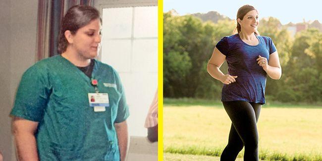 Tamar Ward weight loss success