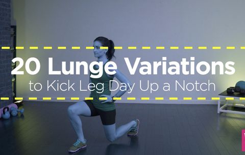 20 Lunge Variations to Kick Leg Day Up a Notch