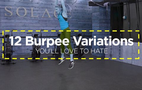 12 Burpee Variations You'll Love to Hate