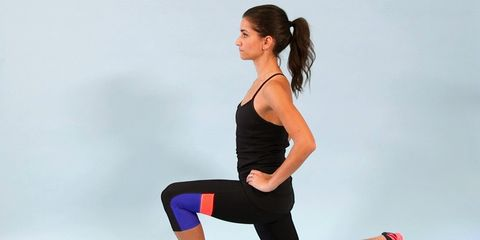 fitgif reverse lunge