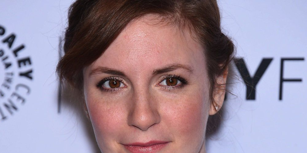 lena dunham, who was hospitalized with a ruptured ovarian cyst