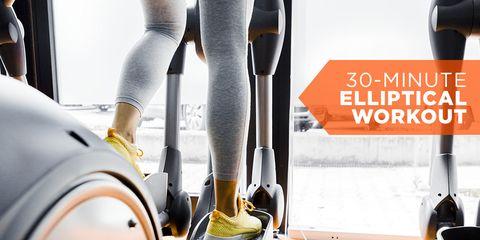 Elliptical training workout