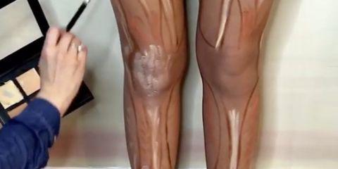 leg contour