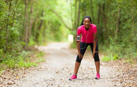 The Thing That Will Help Your Lungs Stop Burning on Runs
