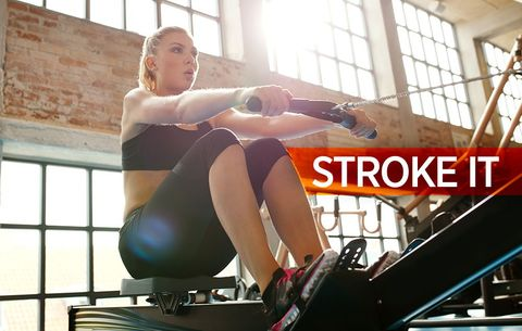 The 30-Minute Rowing Workout That'll Crank Up Your Cardio