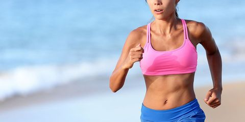 what happens to womens body when they run