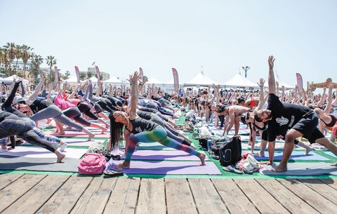 I Did a Yoga Triathlon—Here's What That Was Like