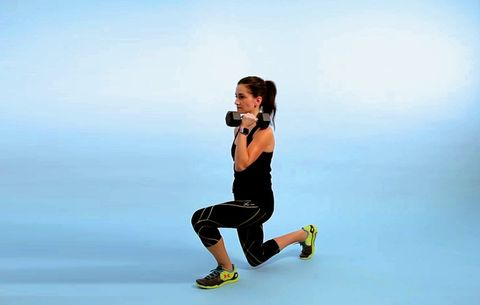 This One Hard-Core Lunge Will Sculpt Your Legs AND Abs