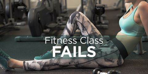 fitness class fails
