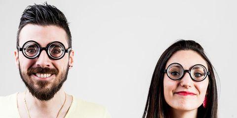 A nerd couple