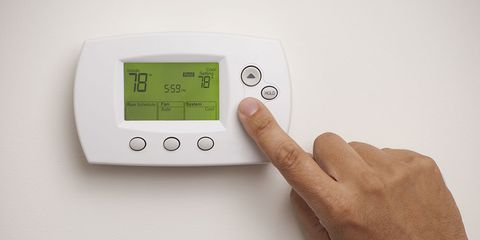 should you leave air conditioner on all day