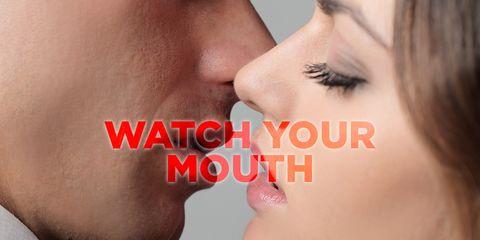 Kissing mistakes men make