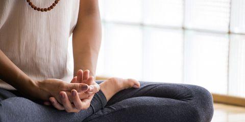 meditating every day