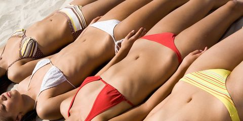 electric razor bikini line