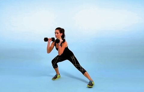 This Move Will Light Up Your Lower Half and Sculpt Strong Arms