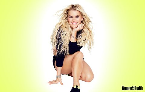 The 3 Moves Jessica Simpson Swears By for Killer Legs